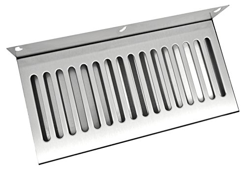 Bev Rite Wall Mount Beer Drip Tray, Stainless Steel, 14 x (Tray Wall Mount)