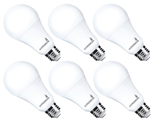 Hyperikon LED A21 Dimmable Bulb, 100W Equivalent, Daylight, 16W, CRI92, 4000K (6 ()