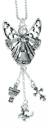 Ganz Car Charm Angel with Pearl Face -