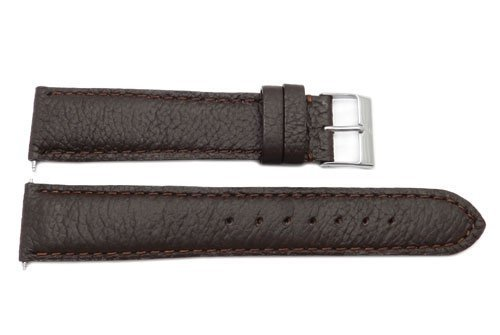 Swiss Army Garrison Series Brown Leather 20mm Watch Band