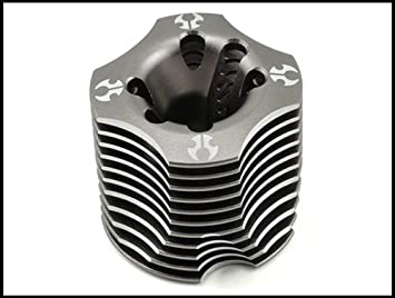 Axial 32 Engine Heatsink Head (Grey) 049