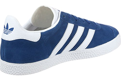 adidas Gazelle J, Zapatillas de Deporte Unisex Niños Azul (Reauni/Ftwbla/Ftwbla 000)