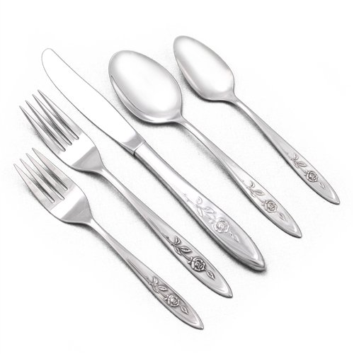 My Rose by Oneida, Stainless 5-PC Setting