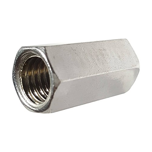 1 2 Quot Threaded Steel Couplers : Rod coupling nuts stainless steel plain