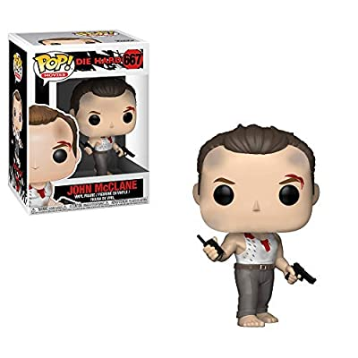 Funko Pop Movies: Die Hard - John McClane Collectible Figure, Multicolor: Toys & Games