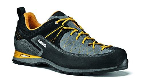 Asolo - Zapatillas de escalada de Piel para hombre Gris gris gris