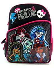 16 Monster High Fabulous Freaks Backpack-tote-bag-school
