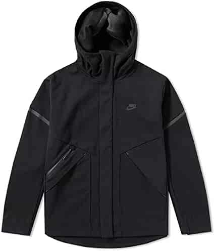best service edd33 a5ca9 Nike Sportswear Tech Fleece Repel Windrunner Jacket Men Obsidian Heather  Black 867658-451