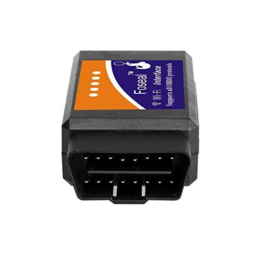 car wifi obd 2 obd2 obdii scan tool foseal scanner adapter. Black Bedroom Furniture Sets. Home Design Ideas