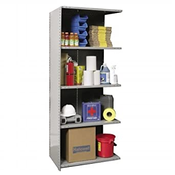 Hallowell Hi Tech Extra Heavy Duty Closed Shelving CLS-XHD3624-5A