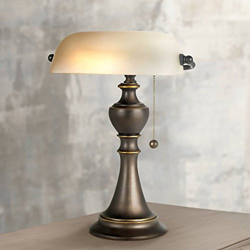 Haddington Traditional Piano Banker Table Lamp 16
