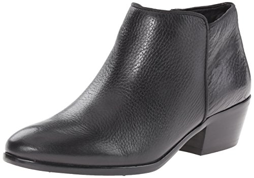 (Sam Edelman Women's Petty Ankle Bootie, Black Leather, 6 M)