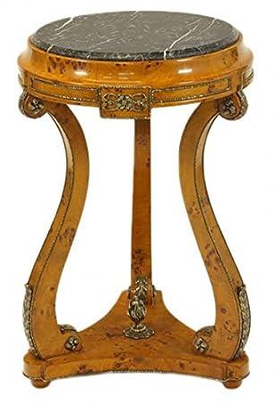 Schon Casa Padrino Barock Beistelltisch Vogelaugen Ahorn H70 X 45cm   Ludwig XVI  Antik Stil Tisch