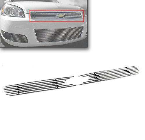 ZMAUTOPARTS Chevy Impala/ Monte Carlo Front Upper Billet Grille Grill Insert 2Pcs ()