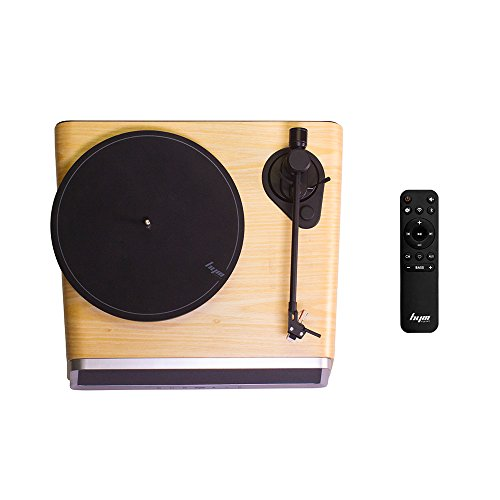 Superior Vinyl Record Player,HYM Originals Seed All in One Record Player Stereo Audio Smart Vinyl Records Turntable Built in 80Watt HiFi Speakers Bluetooth Wifi AUX-in USB White Oak Case by HYM Originals (Image #2)