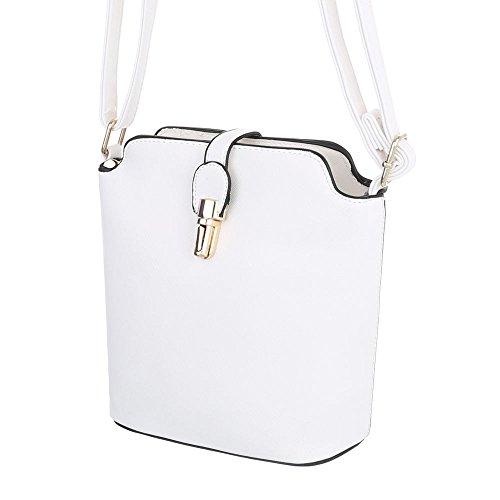 Schuhcity24 Taschen Umhängetasche Weiß zMdSRCqQv
