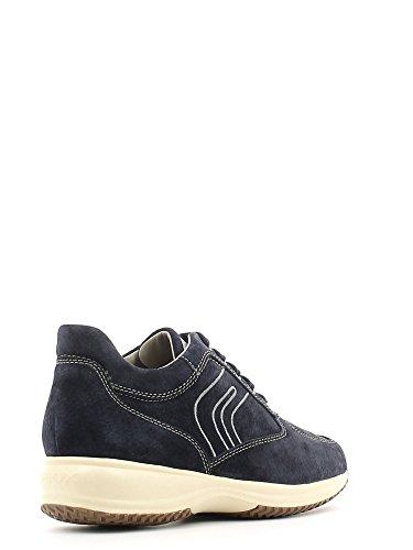 Geox U4162G000KZ Sneakers Uomo Scamosciato Navy Navy 44