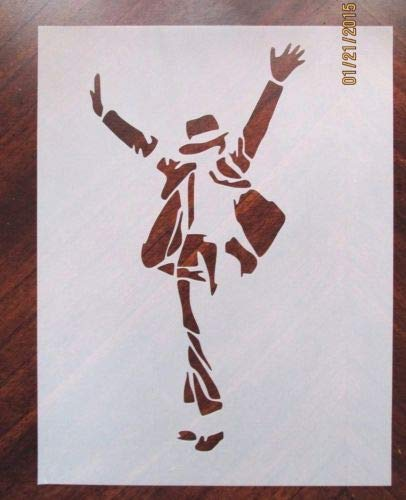 Michael Jackson Stencil for Airbrush, Crafting, Artwork, etc. -