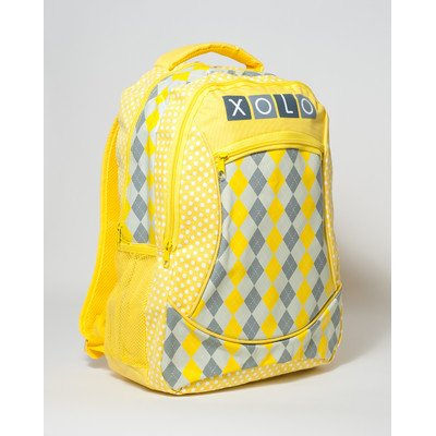 Pam Grace Creations Backpack, Sunny Argyle