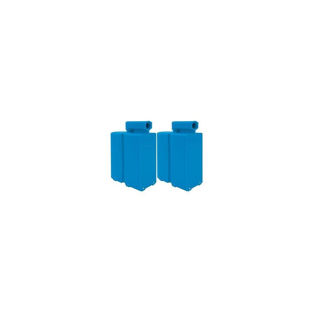 Domena Pack di 2cassette anticalcare tipo A Blu
