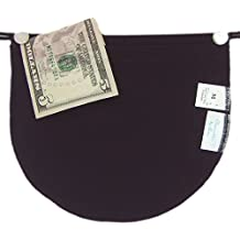 Bra Pocket Travel Wallet Modesty Panel Chemisettes by Anne Soft Poly 5 sizes