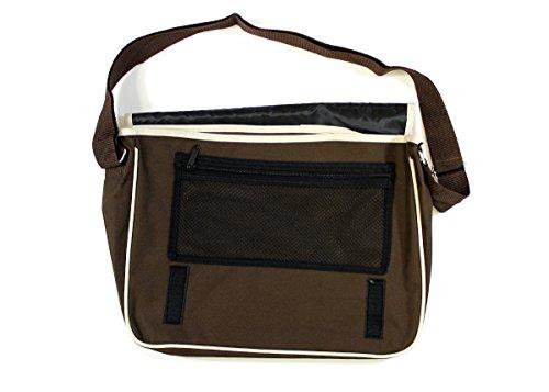 Bolso hombro para Arcane de Store hombre al marrón Algodón RHOwOBqA