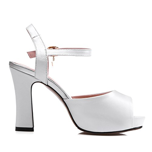 Plateforme Femme Blanc 5 Blanc 1TO9 36 Inconnu BHw54xqH