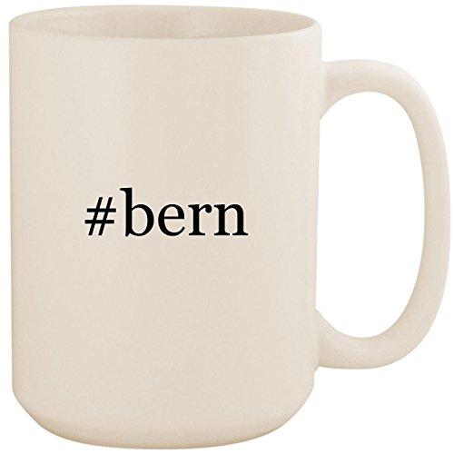 #bern - White Hashtag 15oz Ceramic Coffee Mug Cup - Macon Knit Hard Hat