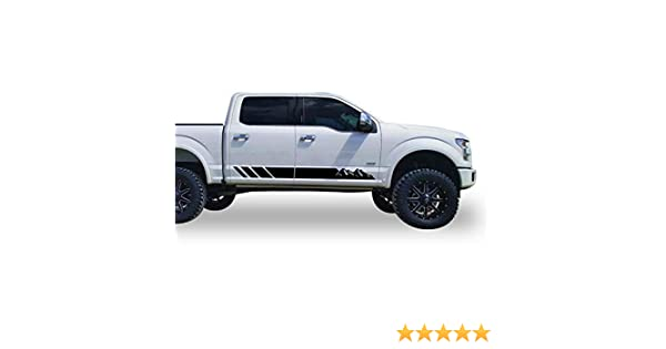 Bubbles Designs Decal Sticker Mountain Stripes Compatible with Ford F 150 2015-Present