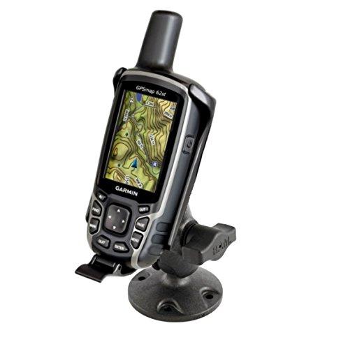 Short Flat Surface Mount Kit Fits Garmin Astro 320 Garmin GPSMAP 62 62s 62sc 62st 62stc 64 64s & 64st