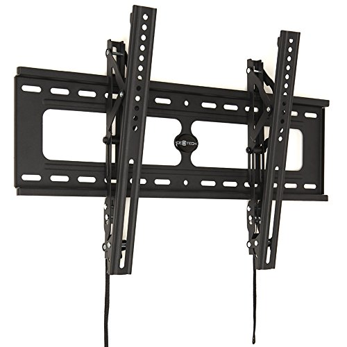 Space Saver 30651 Tilting Wall Mount for Flat Panel TV, Black (Height Space Saver)