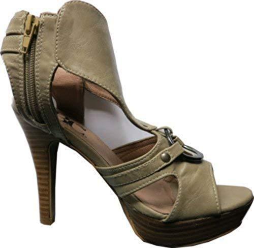 Kitt Femme Sandales Sandalette Best Pour Connections Beige wxz06IYq