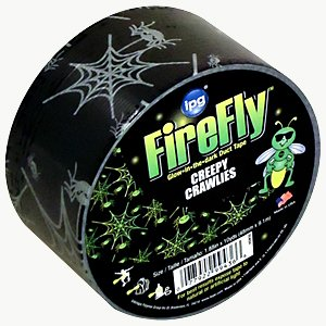 Intertape Firefly Glow-In-The-Dark Duct Tape (Overstock): 2 in. x 30 ft. (Creepy Crawlies)