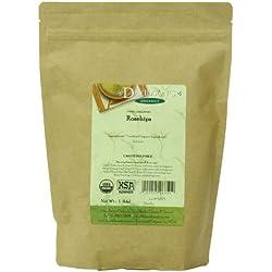 Davidson's Tea Bulk, Organic Rosehips, 16-Ounce Bag