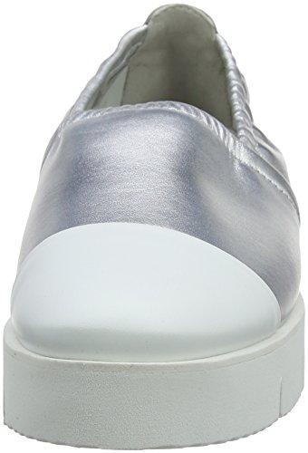 Silver Ballerine Donna Wei XXL 613 Schuhmanufaktur Bianco Bianco Plateau Schmenger Malu Sohle Kennel und con XwPqTO