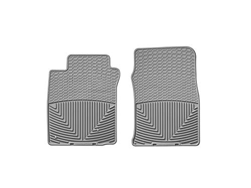 WeatherTech Trim to Fit Front Rubber Mats (Grey) (2007 Mustang Weather Tech)