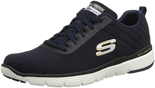 Skechers Flex Advantage 3.0-Jection, Scarpe Sportive Indoor Uomo Blu (Navy/Black Nvbk)