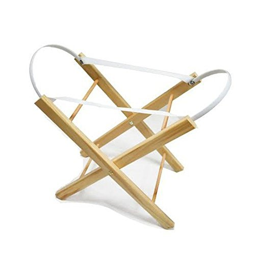 Doll's Moses Basket Stand fits our Hoolaroo Personalised Moses Baskets by Hoolaroo