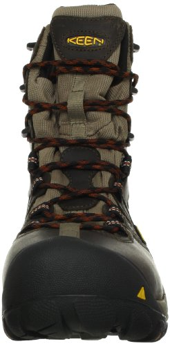 Boot Work Utility Keen 8 Olive Detroit US Toe Mens Steel Brindle D 10 Black YaaxH0n