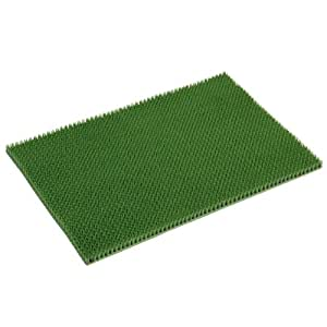 Xclou 274570 - Felpudo para exteriores (60 x 40 cm), color verde