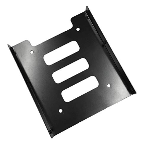 Professional 2.5 Inch to 3.5 Inch SSD HDD Metal Adapter Rack Hard Drive SSD Mounting Bracket Holder for PC ()
