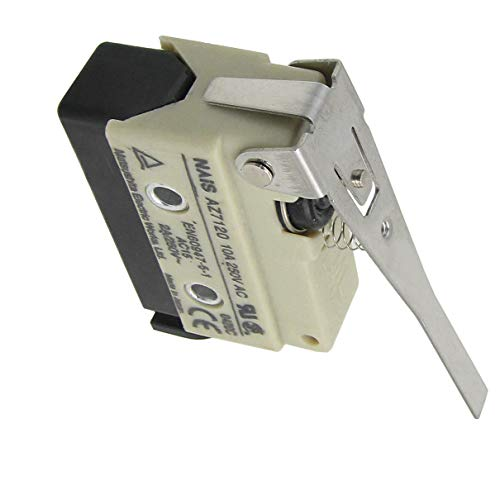 (Aexit AZ7120 Screw Industrial Switches Terminals Long Hinge Lever Enclosed Basic Limit Switches Limit Switch)