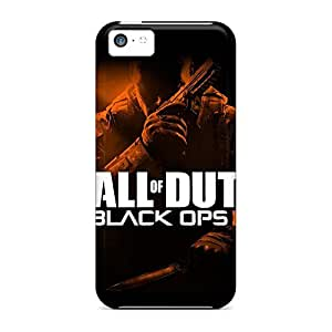 Design mobile phone back case For Iphone Cases Classic shell iphone 5c - call of duty black ops 2