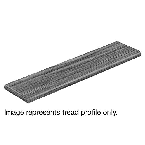 Cap A Tread Distressed Maple Cruise 47 in. Length x 12-1/8 in. Depth x 1-11/16 in. Height Laminate Left - Maple Tread