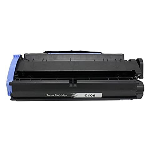 1 Pack Hiink Compatible C106 Black Laser Toner Cartridge for Canon 106 (0264B001AA) for use in the ImageClass MF6530, MF6540, MF6550, MF6560, MF6580, MF6590, MF6595, MF6595cx (Canon Imageclass Mf6540 Toner)