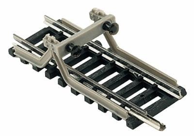 Style Crossbars (Minitrix N Scale Code 80 Track Crossbar-Style Bumper pkg(5))