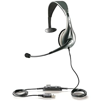 Jabra UC VOICE 150 mono Monoaural Diadema Gris auricular con micrófono - Auriculares con micrófono (