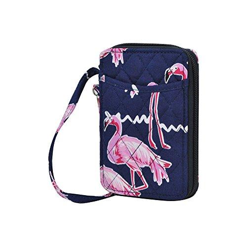 Flamingo NGIL Quilted Wristlet Wallet