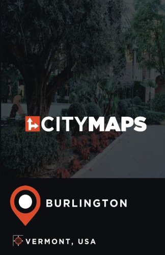 City Maps Burlington Vermont, USA