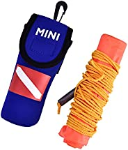 Owlike Inflatable Surface Signal Marker Buoy for Diver Location Marker High Visibility